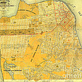 Britton And Reys Guide Map Of The City Of San Francisco. 1887. by California Views Archives Mr Pat Hathaway Archives