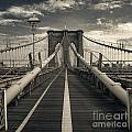 Brooklyn Bridge by Istvan  Kadar