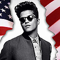 Bruno Mars by Marvin Blaine