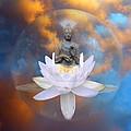 Buddha Meditation by Gill Piper