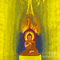 Buddha by Stelios Kleanthous