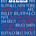 Buffalo Bills by Jaime Friedman