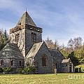 Building Church Southwick Parish Church Dumfries And Galloway by Hugh McKean