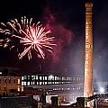 Bull Durham Fireworks by Jh Photos