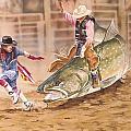 Bull Ridin by Tim  Joyner