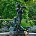 Burnett Fountain by Kathrine R Mitchell