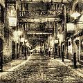 Butlers Wharf London Vintage by David Pyatt