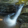 Buttermilk Falls Gorge Trail by John Naegely