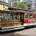 Cable Car On Turntable San Francisco by Peter Lloyd