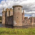 Caerlaverock Castle by Eunice Gibb