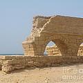 Caesarea Israel Ancient Roman City Port by Robert Birkenes