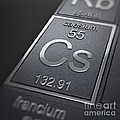 Caesium Chemical Element by Science Picture Co