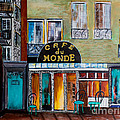 Cafe Du Monde by Barbara McMahon