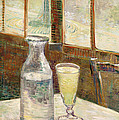 Cafe Table With Absinth  by Mountain Dreams