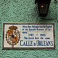 Calle Orleans by Susie Hoffpauir