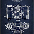 Camera Patent Drawing From 1962 by Aged Pixel