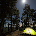 Camping On The Rim by Kyle Ledeboer