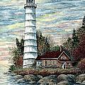 Cana Island Light by Steven Schultz