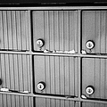 canada post post mailboxes in rural small town Forget Saskatchewan Canada by Joe Fox