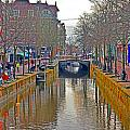 Canal Of Delft by Elvis Vaughn