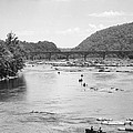 Canoeing At Harpers Ferry by William Kuta