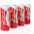 Cans Of Budweiser Beer by Amanda Elwell