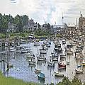 Cape Cod Americana Wychmere Harbor by Constantine Gregory