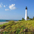Cape Florida Lighthouse by Ellen Henneke