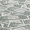 Carpet Of One Dollar Bills by Lee Avison