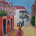 Cartagena Seller by Jean Pierre Bergoeing