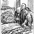 Cartoon: Big Three, 1945 by Granger