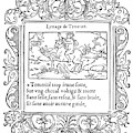 Cartouche, 1543 by Granger