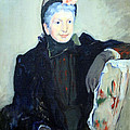 Cassatt's Portrait Of An Elderly Lady by Cora Wandel