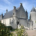 Castle Loches - France by Christiane Schulze Art And Photography