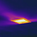 Ceiling Heating Vent, Thermogram by Science Stock Photography
