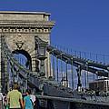 Chain Bridge Budapest by Tony Murtagh