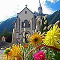 Chamonix Church by Alexandros Daskalakis