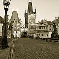 Charles Bridge In Prague by Sarka Olehlova