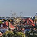 Charleston Rooftops by Dale Powell