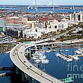 Charleston Waterfront And Marina South Carolina by Bill Cobb