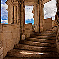 Chateau De Blois Staircase / Loire Valley by Barry O Carroll