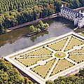 Chateau De Chenonceau And Its Gardens by Mick Flynn