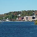 Chelsea Harbor In Fall by Geoffrey McLean