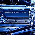Chevrolet Corvette Engine by Jill Reger
