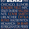 Chicago Bears by Jaime Friedman