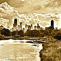 Chicago In Sepia by Frozen in Time Fine Art Photography