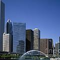 Chicago Skyline by Rafael Macia