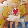 Child Angel Heart by Lutz Baar