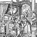 Childbirth, 1580 by Granger