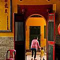 Chinese Temple In Ho Chi Minh Vietnam by Jacek Malipan